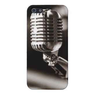 Vintage Microphone iPhone 5 Case