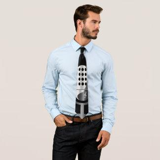 Vintage microphone tie