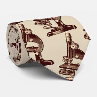 Vintage Microscope Tie