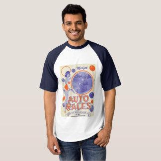 Vintage midget race poster t-shirt