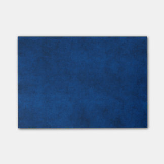 Vintage Midnight Blue Paper Parchment Template Post-it Notes