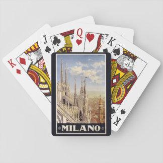 Vintage Milano Milan Italy playing cards