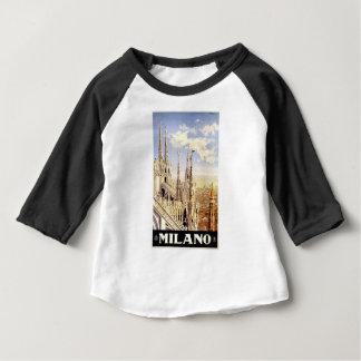 Vintage Milano Travel Baby T-Shirt