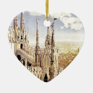 Vintage Milano Travel Ceramic Ornament