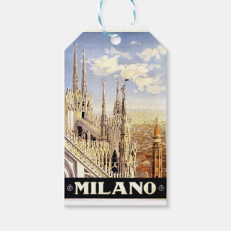 Vintage Milano Travel Gift Tags