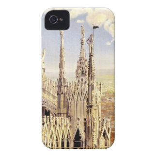Vintage Milano Travel iPhone 4 Case-Mate Cases