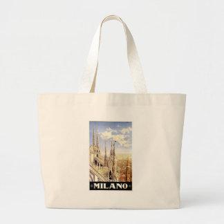 Vintage Milano Travel Large Tote Bag
