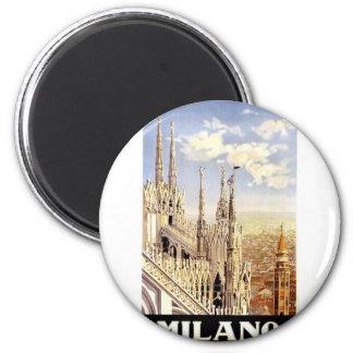 Vintage Milano Travel Magnet