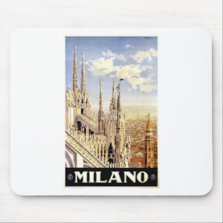 Vintage Milano Travel Mouse Pad