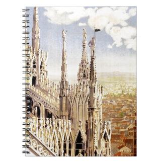 Vintage Milano Travel Notebook