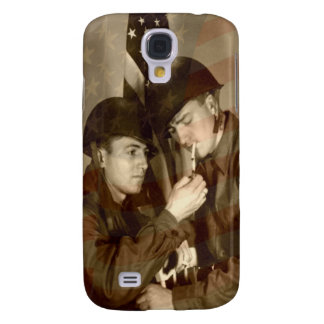 Vintage Military Galaxy S4 Cover