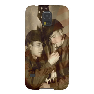 Vintage Military Galaxy S5 Cases