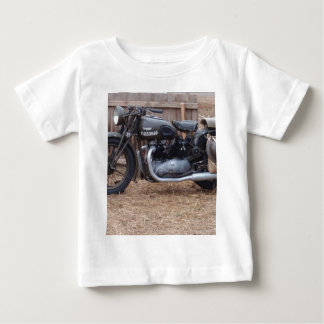 Vintage Military Motorcycle Baby T-Shirt
