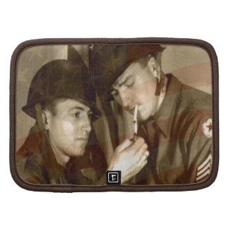 Vintage Military Photo Organizer