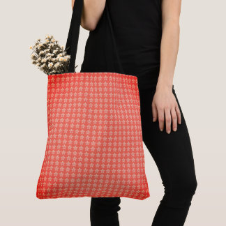 Vintage-Mod-Totes-Bags-Orange-Swirl-Floral_Multi Tote Bag