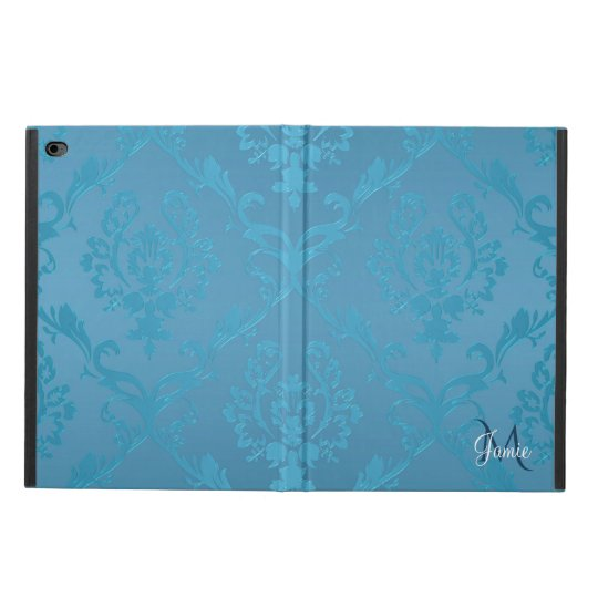 Vintage Modern Glam Turquoise Damask Powis iPad Air 2 Case