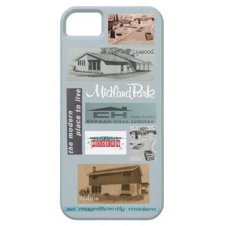Vintage Modern House Mosaic! iPhone 5 Case