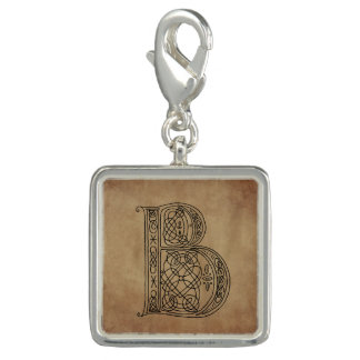Vintage Monogram The Letter B Charms