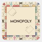 Vintage Monopoly Game Board Square Sticker
