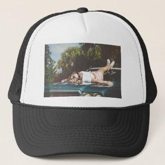 Vintage Monroe Inspired Trucker Hat