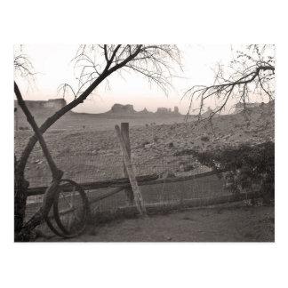 Vintage Monument Valley Photo Postcard