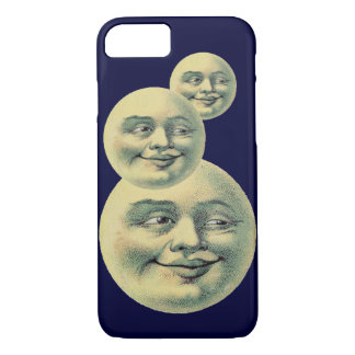 Vintage Moon iPhone 8/7 Case