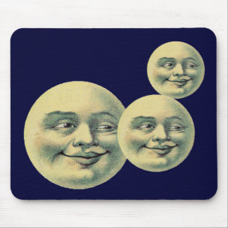 Vintage Moon Mouse Pad