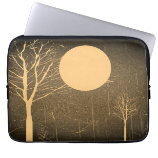 Vintage Moon night 4 Laptop Sleeve