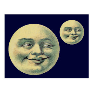 Full Moon Face Gifts on Zazzle CA