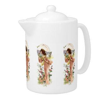 Vintage Moonlight Fairy Teapot