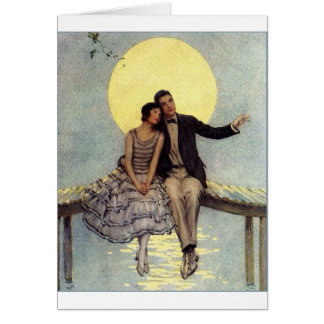 Vintage - Moonlit Love, Card