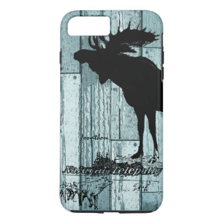 Vintage Moose and Wolf Wildlife iphone 5 Case