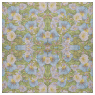 Vintage Morning Glories Fabric
