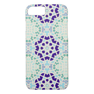 Vintage Moroccan Tile Abstract Pattern Modern Art iPhone 8/7 Case