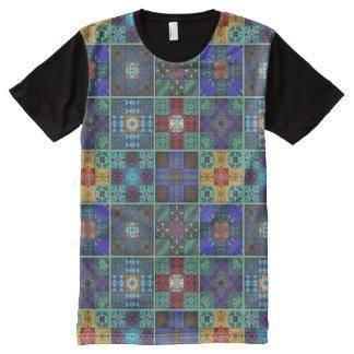 Vintage mosaic talavera ornament All-Over-Print T-Shirt