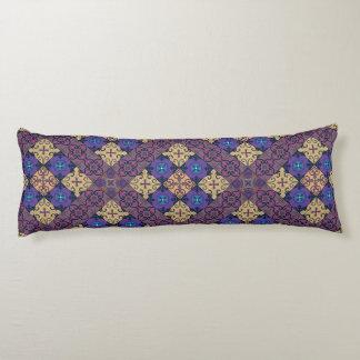Vintage mosaic talavera ornament body pillow