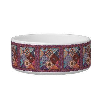 Vintage mosaic talavera ornament bowl