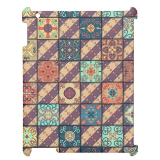 Vintage mosaic talavera ornament case for the iPad 2 3 4