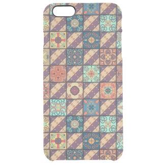 Vintage mosaic talavera ornament clear iPhone 6 plus case