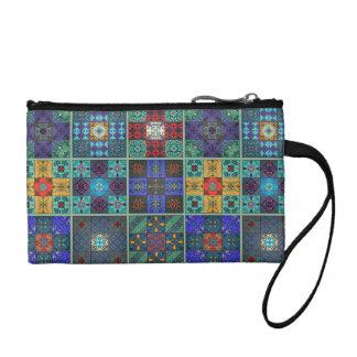 Vintage mosaic talavera ornament coin purse