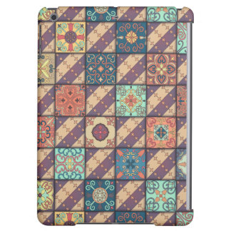 Vintage mosaic talavera ornament cover for iPad air