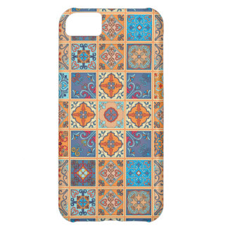 Vintage mosaic talavera ornament cover for iPhone 5C