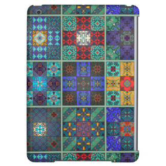 Vintage mosaic talavera ornament iPad air cover