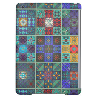 Vintage mosaic talavera ornament iPad air covers
