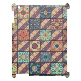 Vintage mosaic talavera ornament iPad cover