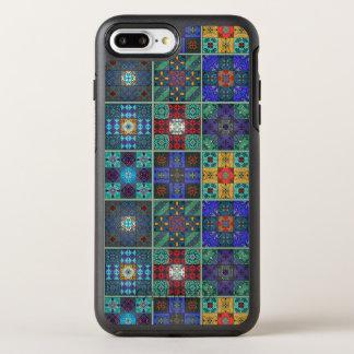 Vintage mosaic talavera ornament OtterBox symmetry iPhone 8 plus/7 plus case