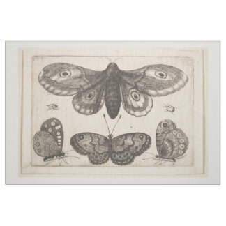 Vintage Moth Butterfly Lepidoptera Tapestry (57) Fabric
