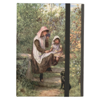 Vintage Mother and Child in a country setting iPad Air Cases