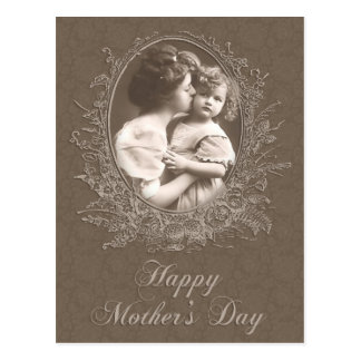 Vintage Mother and Child Mother's Day Postcard
