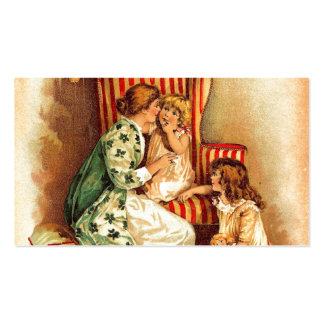 Vintage Mother and Children - Mother's Day Business Card